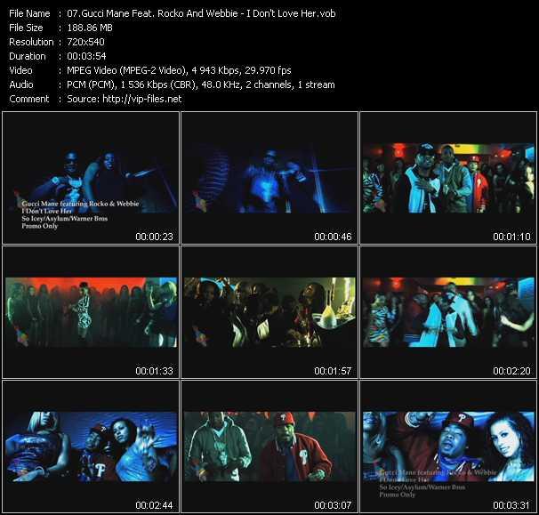 Gucci Mane Feat. Rocko And Webbie video screenshot
