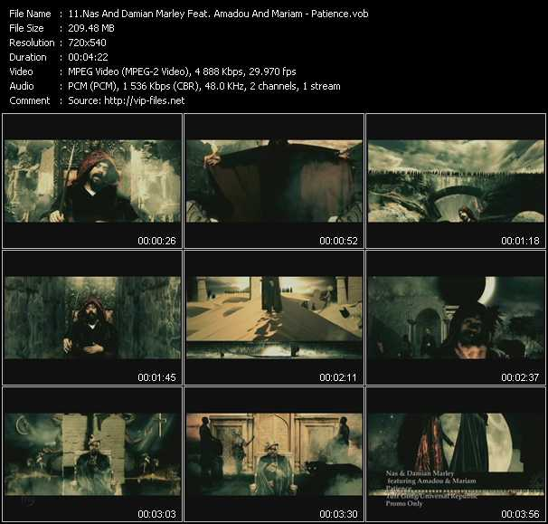 Nas And Damian Marley Feat. Amadou And Mariam video screenshot