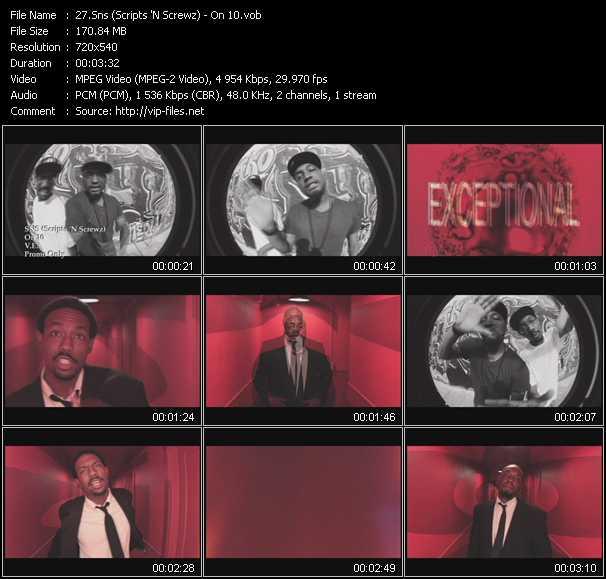 Sns (Scripts 'N Screwz) video screenshot