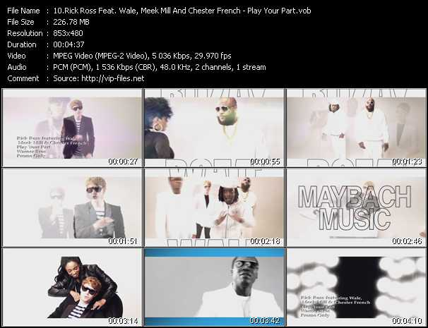 Rick Ross Feat. Wale, Meek Mill And Chester French video screenshot