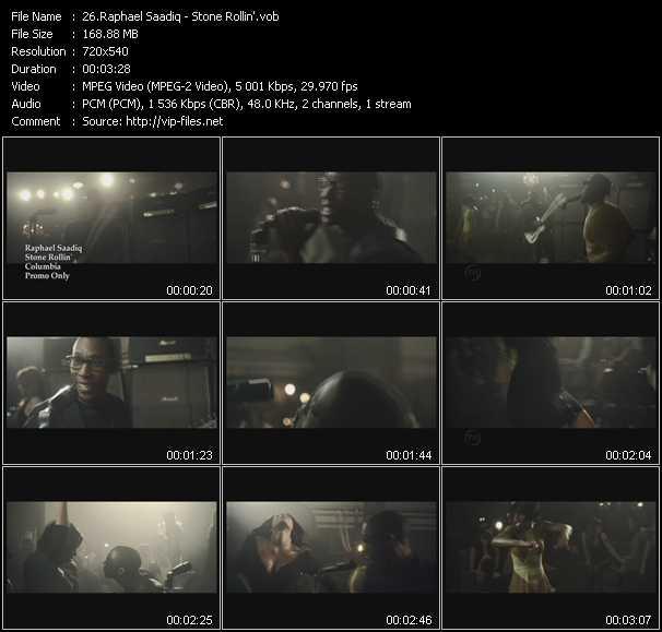 Raphael Saadiq video screenshot