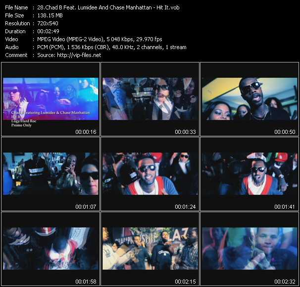 Chad B Feat. Lumidee And Chase Manhattan video screenshot