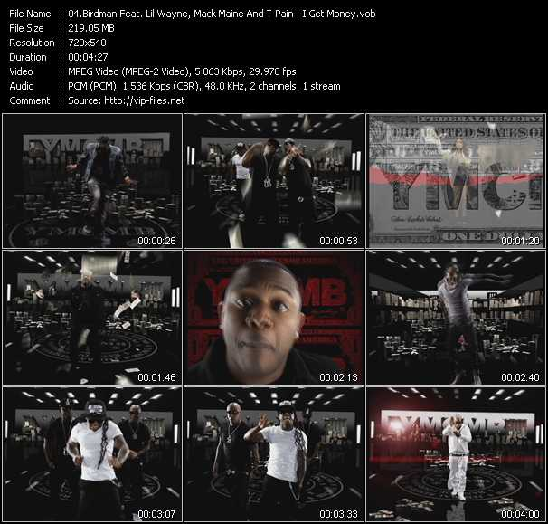 Birdman Feat. Lil' Wayne, Mack Maine And T-Pain video screenshot