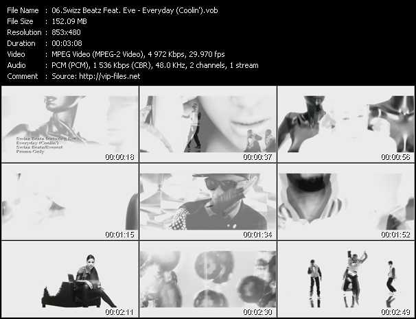 video Everyday (Coolin') screen