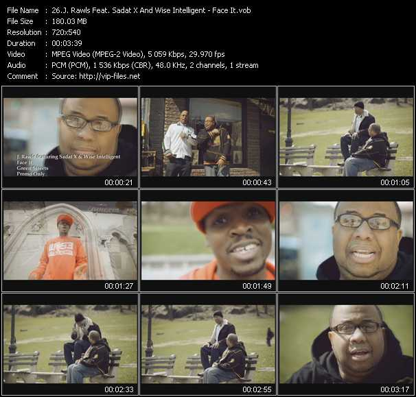 J. Rawls Feat. Sadat X And Wise Intelligent video screenshot