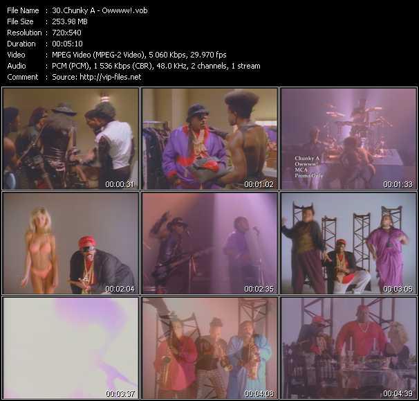 Chunky A video screenshot