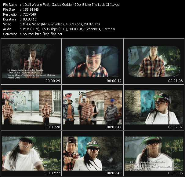 Lil' Wayne Feat. Gudda Gudda video screenshot