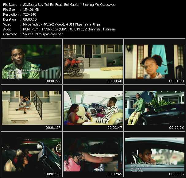 Soulja Boy Tell 'Em Feat. Bei Maejor video screenshot