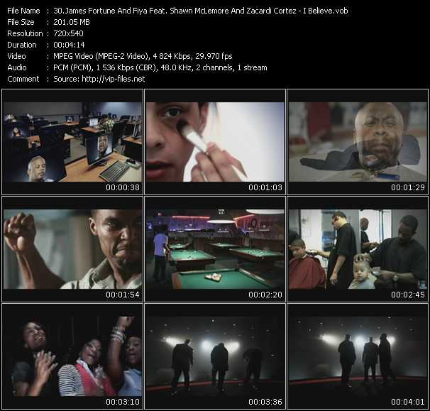 James Fortune And Fiya Feat. Shawn McLemore And Zacardi Cortez video screenshot
