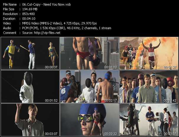 Cut-Copy video screenshot