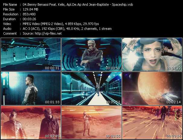 Benny Benassi Feat. Kelis, Apl.De.Ap And Jean-Baptiste video screenshot