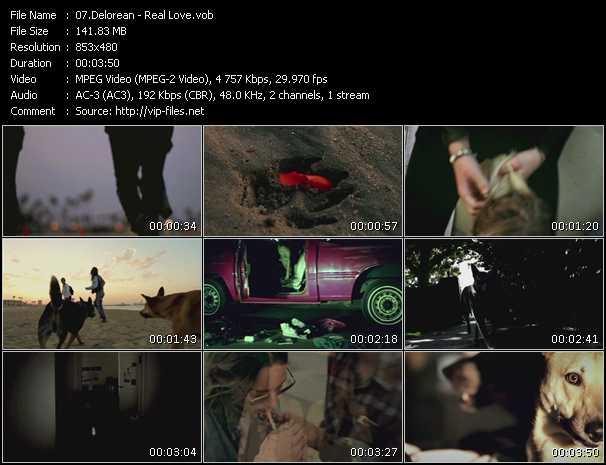Delorean video screenshot
