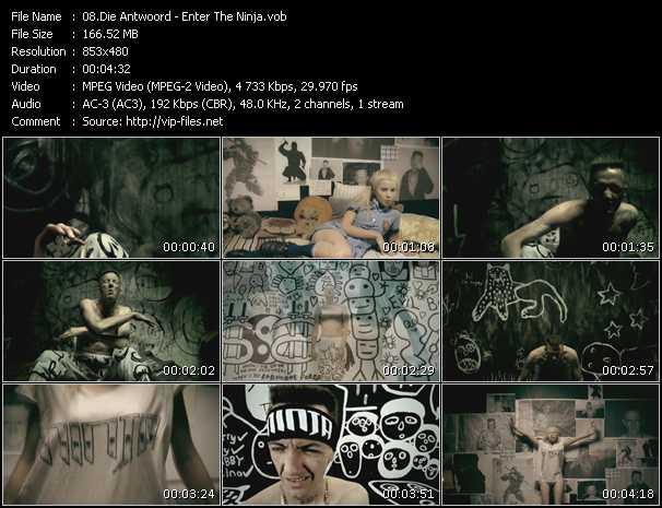 Die Antwoord video screenshot