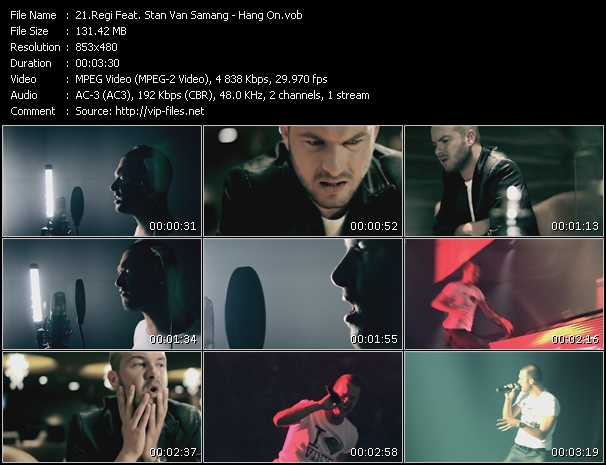 Regi Feat. Stan Van Samang video screenshot
