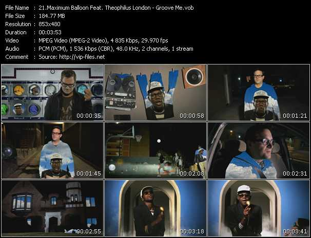 Maximum Balloon Feat. Theophilus London video screenshot