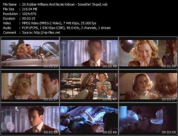 Robbie Williams And Nicole Kidman video screenshot