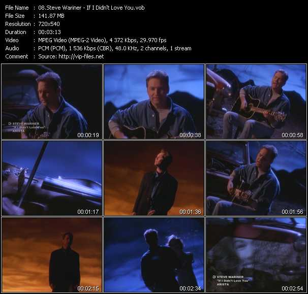 Steve Wariner video screenshot