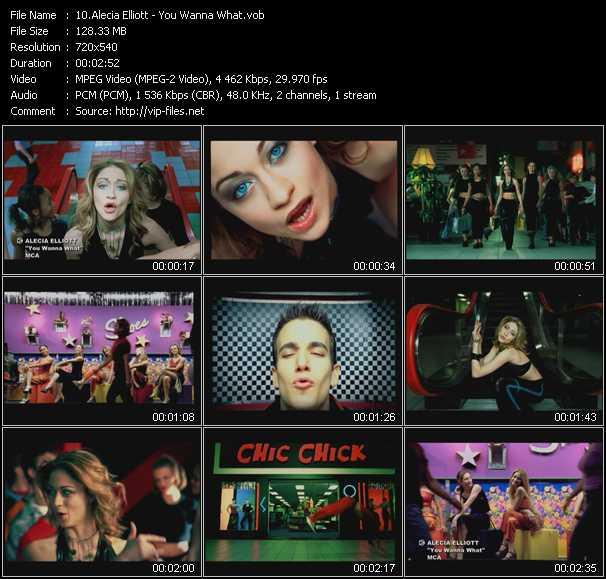 Alecia Elliott video screenshot
