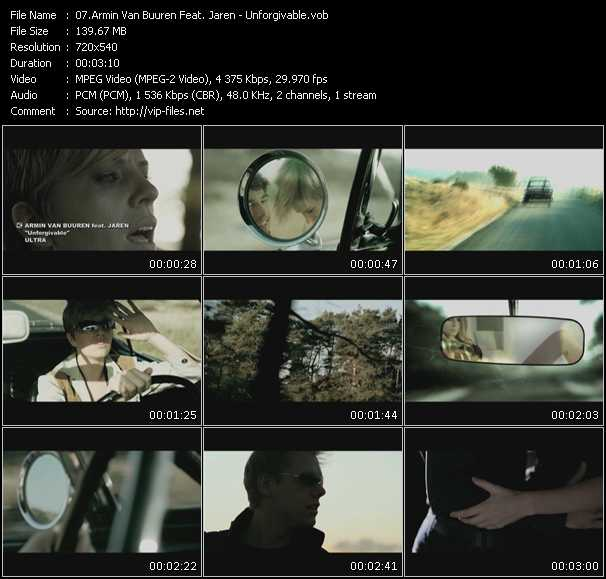 Armin Van Buuren Feat. Jaren video screenshot