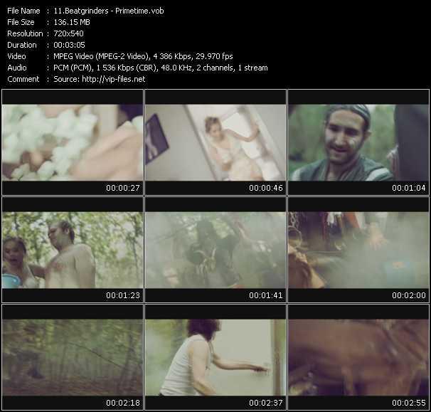 Beatgrinders video screenshot