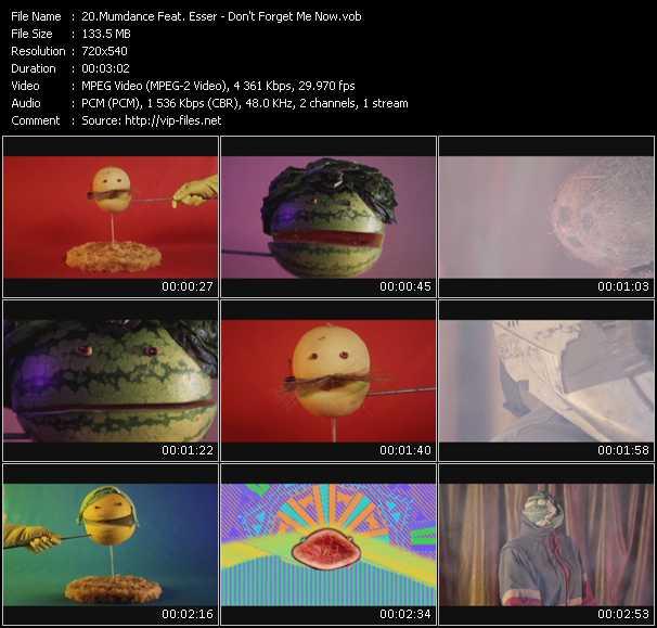 Mumdance Feat. Esser video screenshot