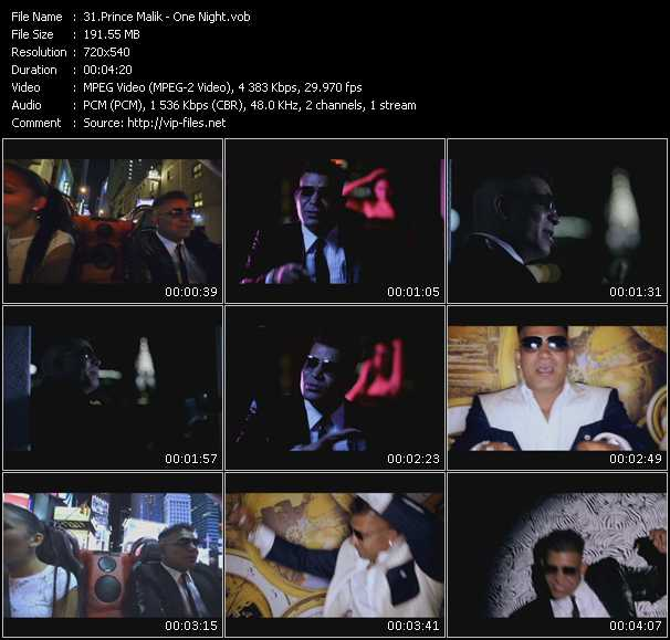 Prince Malik video screenshot