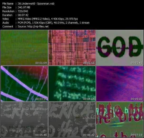 Underworld video screenshot