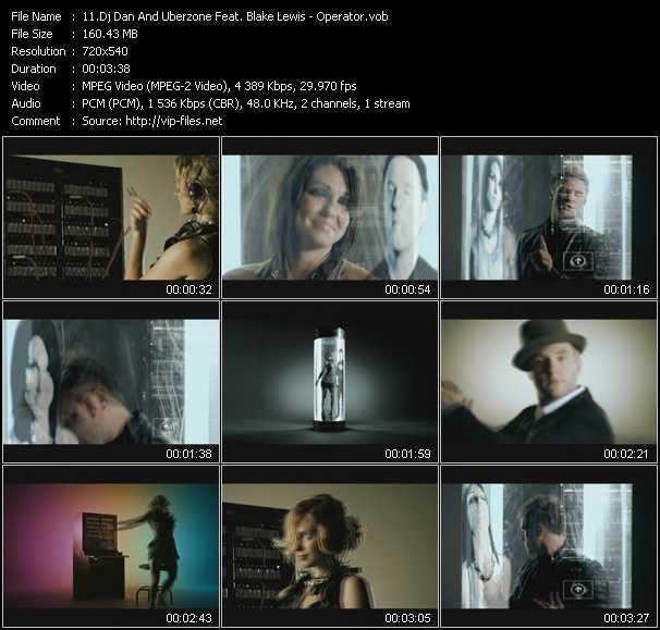 Dj Dan And Uberzone Feat. Blake Lewis video screenshot