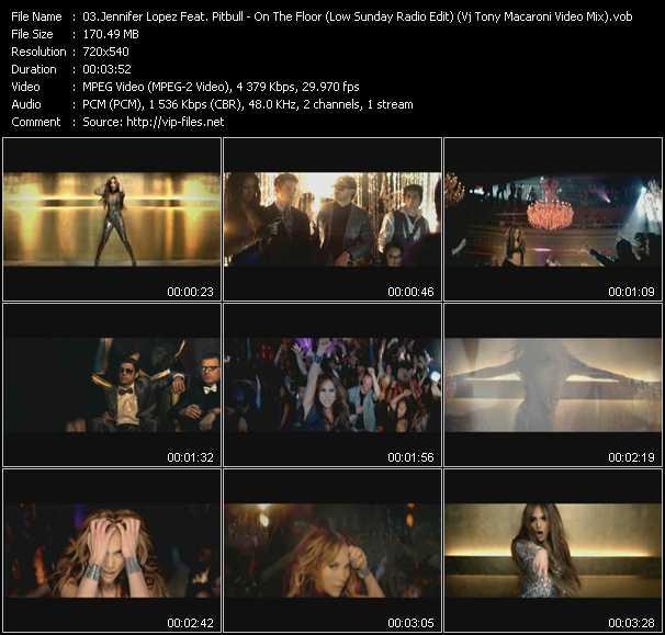Jennifer Lopez Feat. Pitbull video screenshot