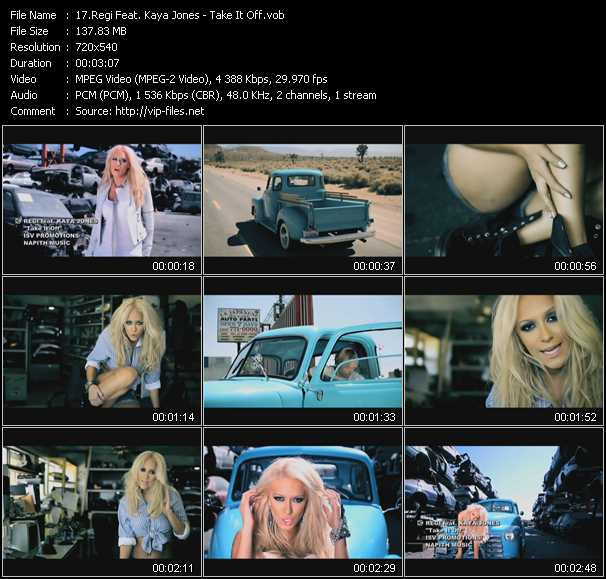 Regi Feat. Kaya Jones video screenshot