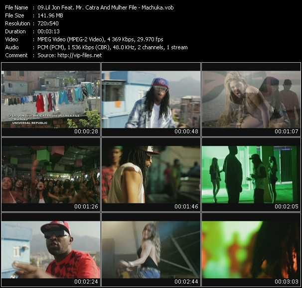 Lil' Jon Feat. Mr. Catra And Mulher File video screenshot