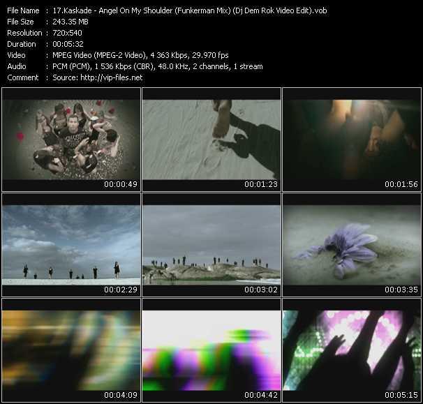 video Angel On My Shoulder (Funkerman Mix) (Dj Dem Rok Video Edit) screen