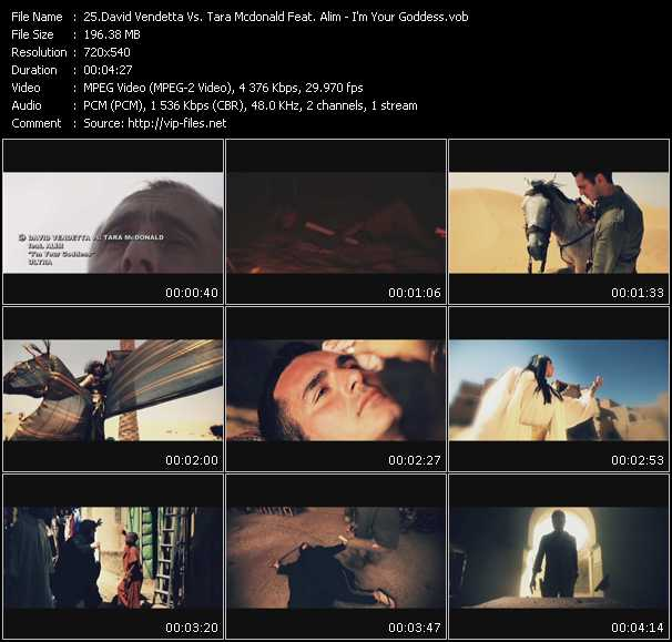David Vendetta Vs. Tara Mcdonald Feat. Alim video screenshot