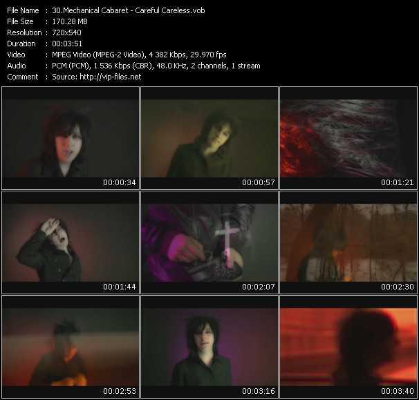 Mechanical Cabaret video screenshot