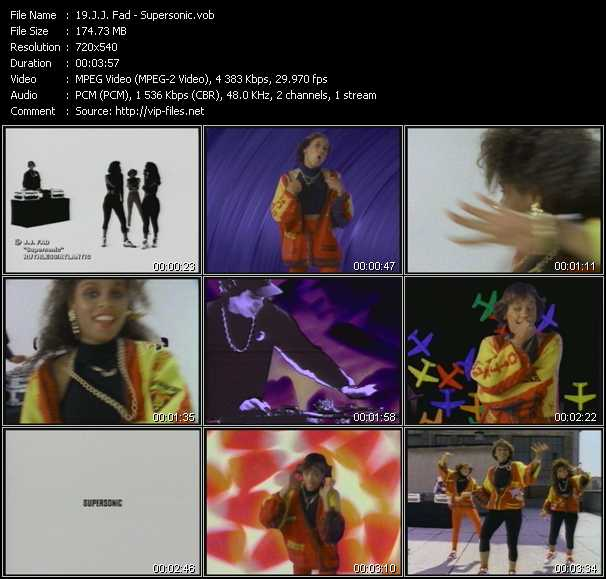 J.J. Fad video screenshot