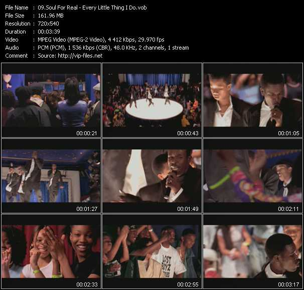 Soul For Real video screenshot