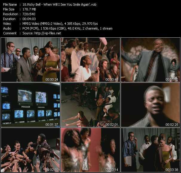 Ricky Bell video screenshot