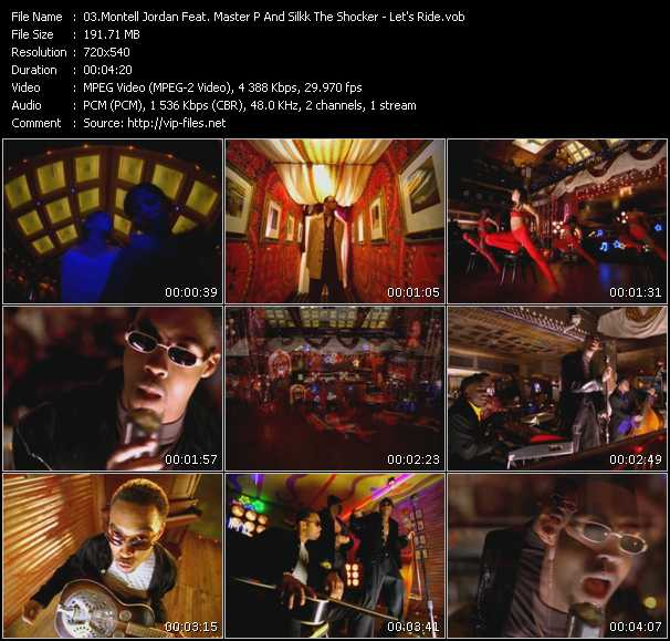 Montell Jordan Feat. Master P And Silkk The Shocker video screenshot