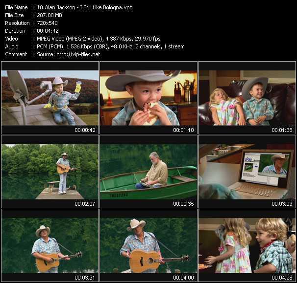 video I Still Like Bologna screen