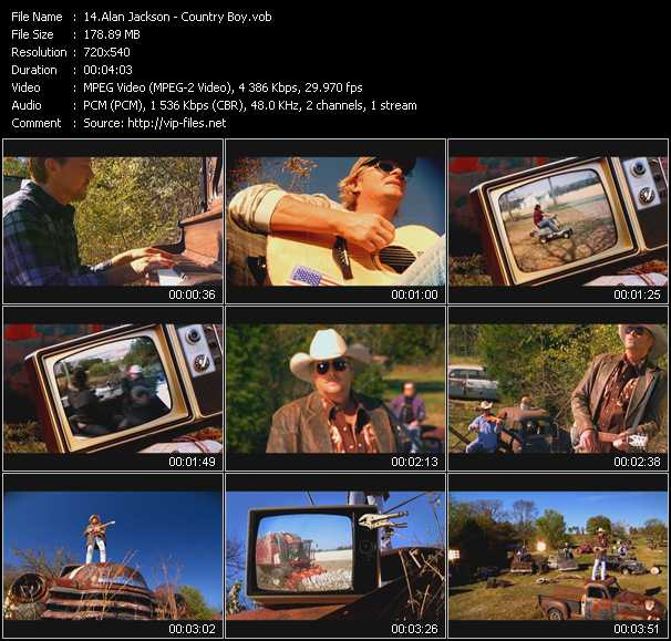 video Country Boy screen