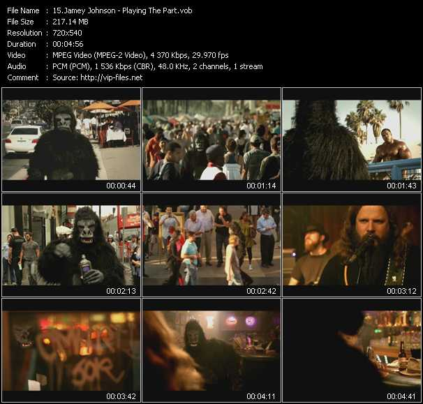 Jamey Johnson video screenshot