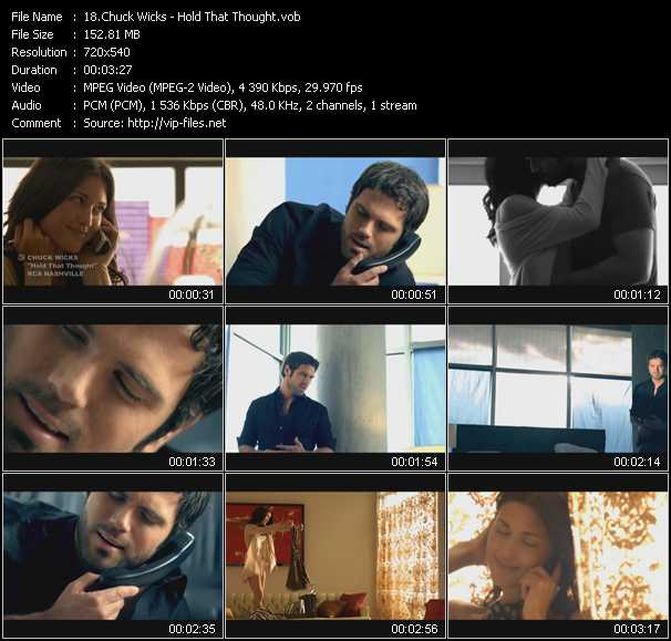 Chuck Wicks video screenshot