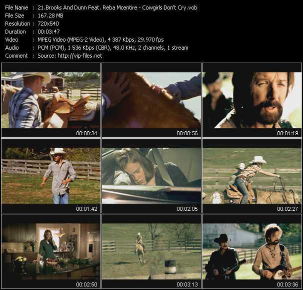 Brooks And Dunn Feat. Reba McEntire video screenshot