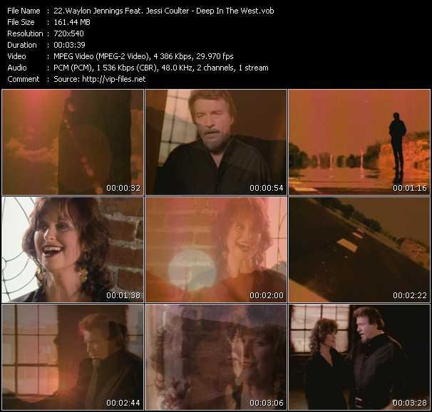 Waylon Jennings Feat. Jessi Coulter video screenshot