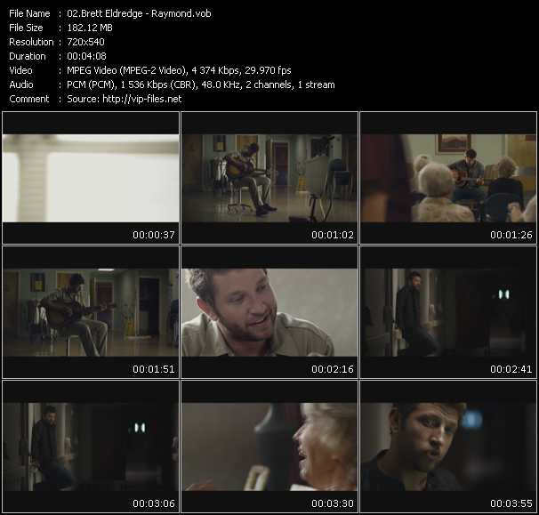 Brett Eldredge video screenshot