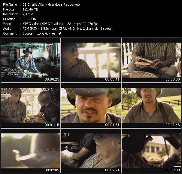Charlie Allen video screenshot