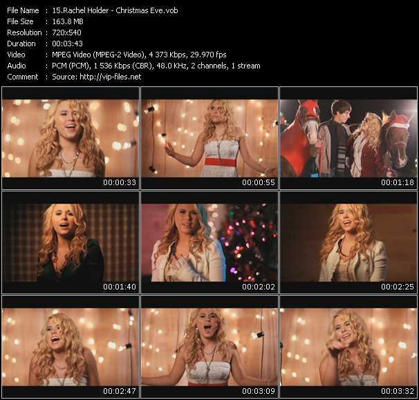 Rachel Holder video screenshot
