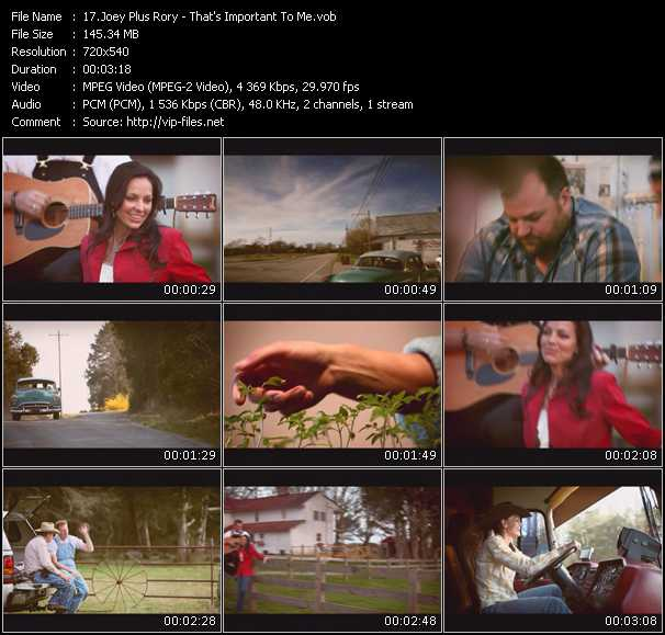 Joey Plus Rory video screenshot