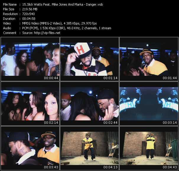 Slick Watts Feat. Mike Jones And Marka video screenshot