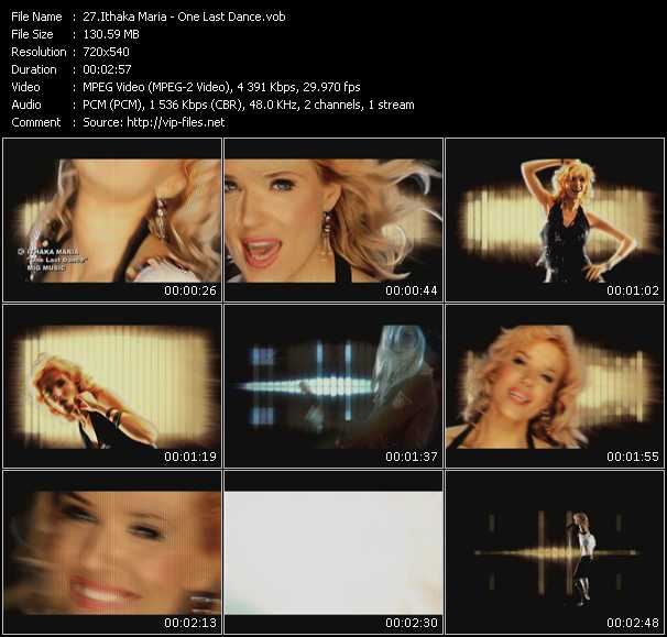 Ithaka Maria video screenshot